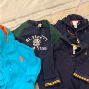 Polo by Ralph Lauren One Pieces - Boys Ralph Lauren Polo lot 9 month 4 pieces onsies